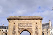 Porte Saint-Denis, Paris, France