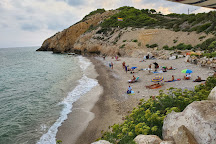 Playa del Hombre Muerto, Sitges, Spain