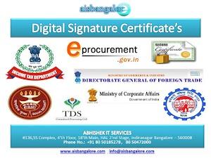 Class-3 Digital Signature Bangalore