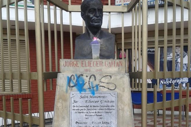 Monumento a Jorge Eliécer Gaitán, Bogota, Colombia