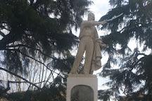 Statua di Giuseppe Garibaldi, Luino, Italy