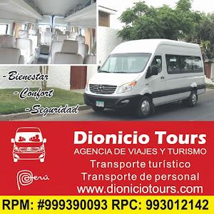 Dionicio Tours S.R.L. 2