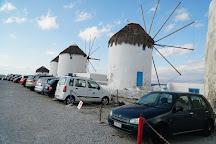 The Windmills (Kato Milli), Mykonos Town, Greece