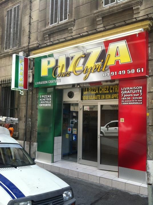 Pizza Chez Cyril