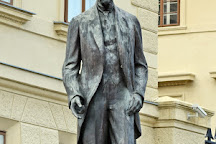Tomas Garrique Masaryk Monument, Prague, Czech Republic