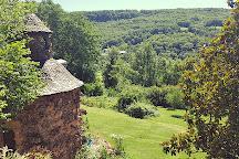 Cascade de Salles-la-Source, Salles-la-Source, France