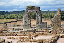 Ciudad romana de Caparra, Oliva de Plasencia, Spain