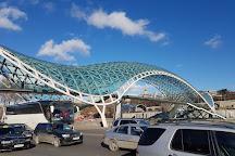 The Bridge of Peace, Tbilisi, Georgia