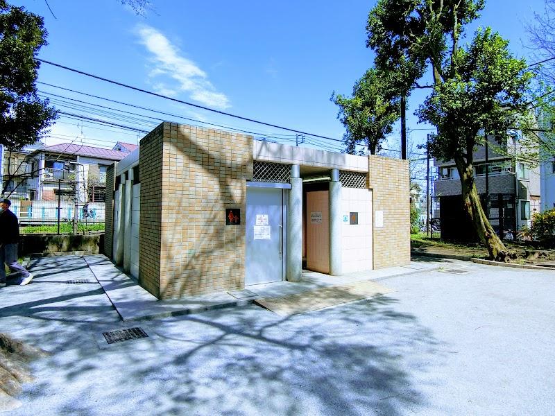 落合公園 公衆トイレ