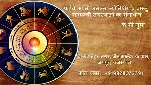 K C Gupta (AstrologerGupta) Famous Jaipur Astrologer
