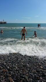 Пляж Освод в Хосте