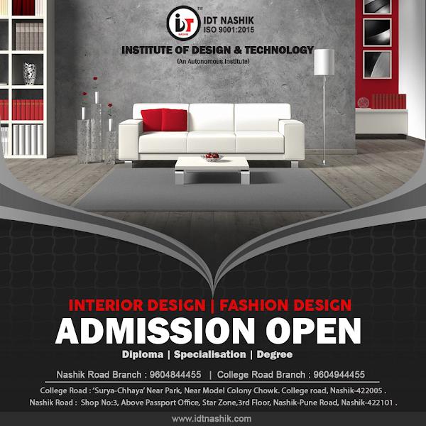 Idt Nashik Interior Design Fashion Design Institute