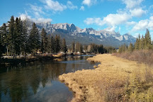Policeman's Creek Boardwalk, Canmore, Canada