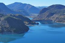 Lac de Serre-Poncon, Savines-le-Lac, France