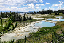 West Thumb Geyser Basin, Yellowstone National Park, United States