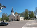 Районный центр культуры на фото Кричева