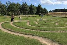 Kalvehave Labyrintpark, Kalvehave, Denmark