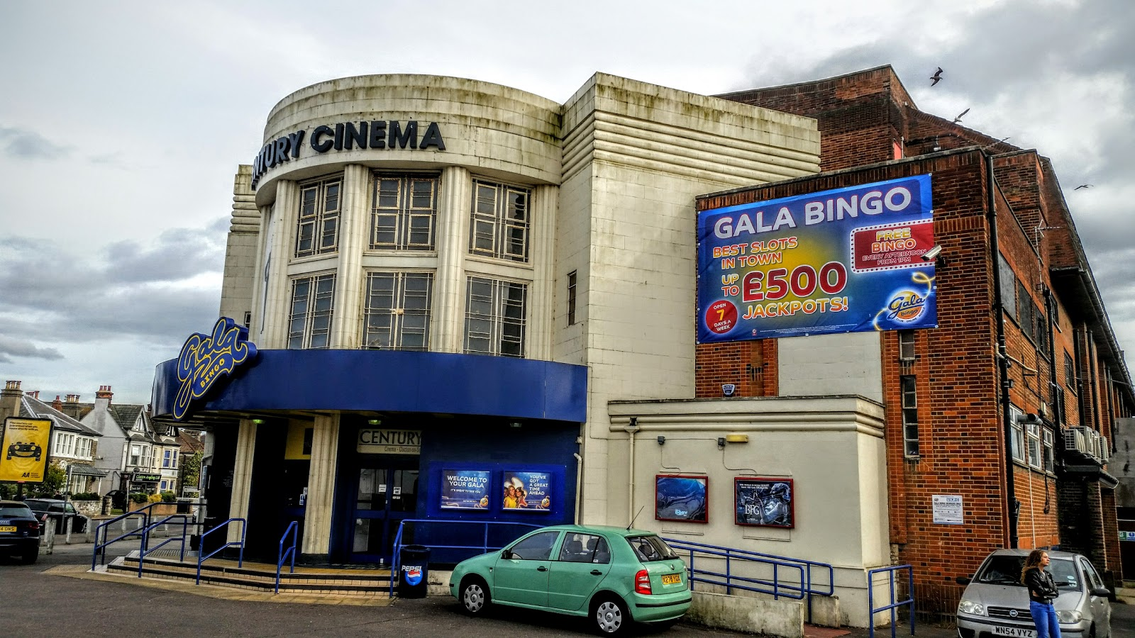 Visit Century Cinema on your trip to Clacton-on-Sea
