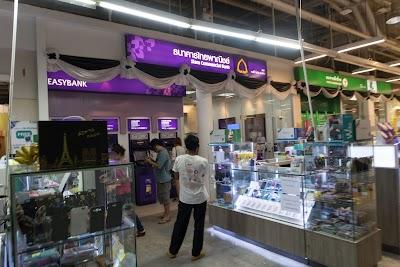 SCB Bank. Tesco Lotus Pakchong Branch