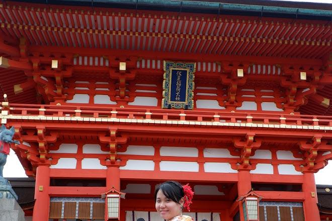Rental Kimono Nagomi Fushimiinari, Kyoto, Japan