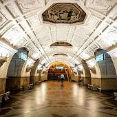 Станция метро  станции  Belorusskaya