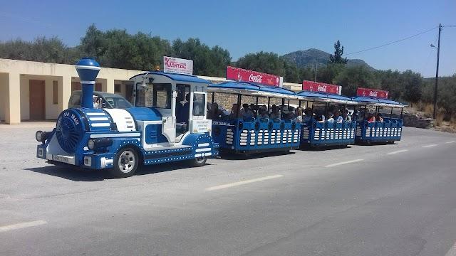 Little Train Tours Blue Trains