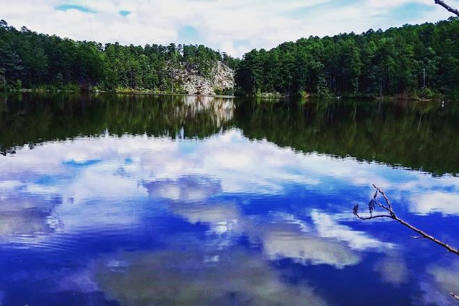 Lake Sylvia, Hot Springs, United States