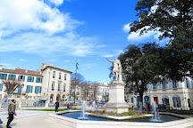 Square Antonin, Nimes, France
