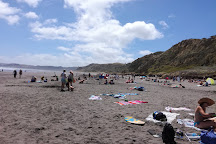 Ngarunui Beach, Raglan, New Zealand