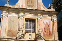 Piazza San Martino, Seborga, Italy