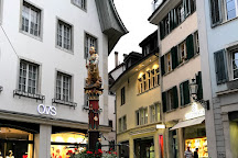 Fountain of Justice, Biel, Switzerland