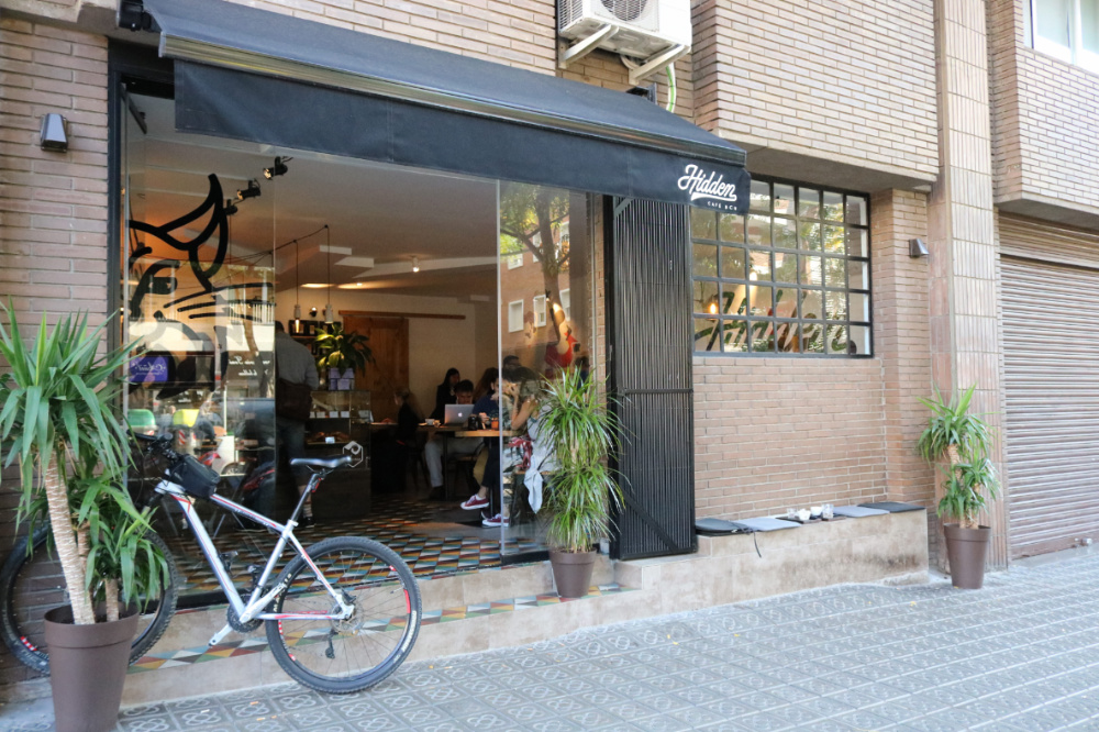 Hidden Café Bcn: A Work-Friendly Place in Barcelona