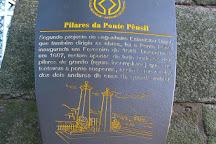 Pilares da Antiga Ponte Pensil, Porto, Portugal