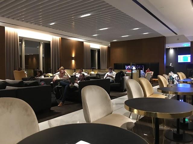 British Airways Terraces Lounge