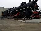 Паровоз, улица Розы Люксембург на фото Воронежа