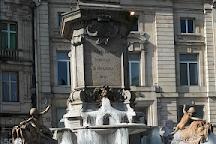 Statue de Charles de Gonzague, Charleville-Mezieres, France