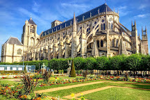 Towers and Crypt of Bourges Cathedral, Bourges, France