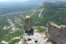Tepe Kermen Cave City, Bakhchisaray, Crimea