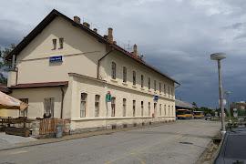 Железнодорожная станция  Cesky Krumlov