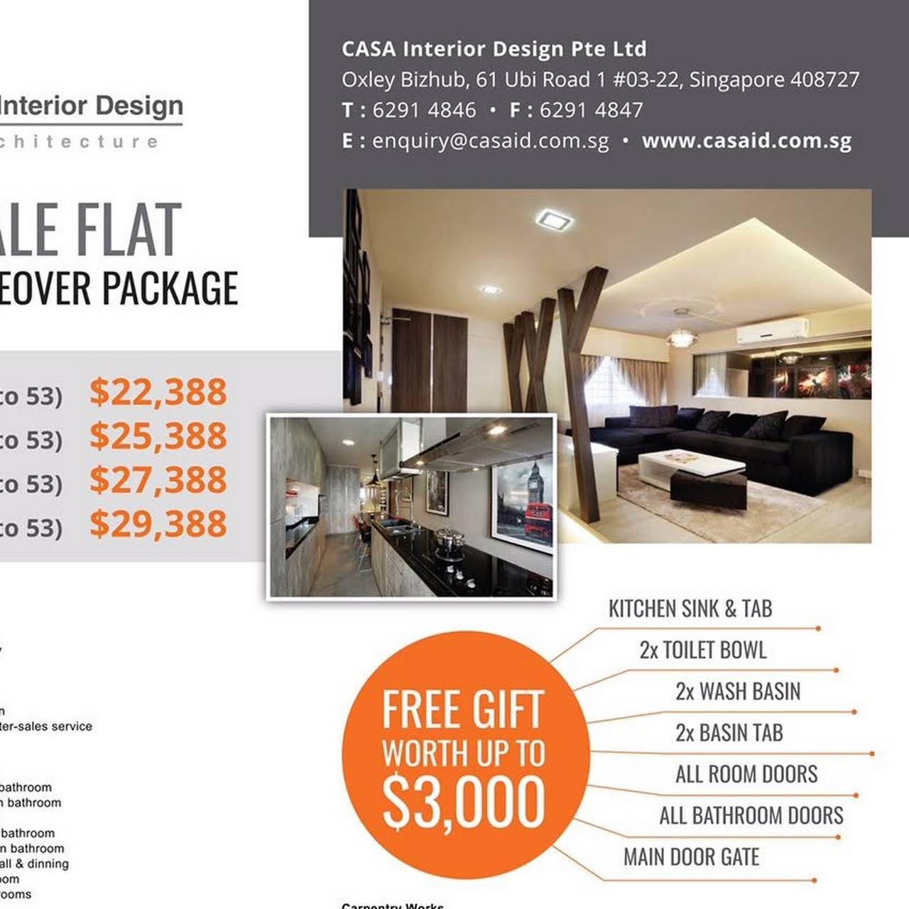 Casa Interior Design Pte Ltd Renovation Singapore Interior Design Interior Designer