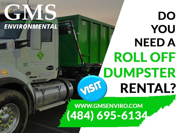 Dumpster Rental Bethlehem PA - GMS Environmental