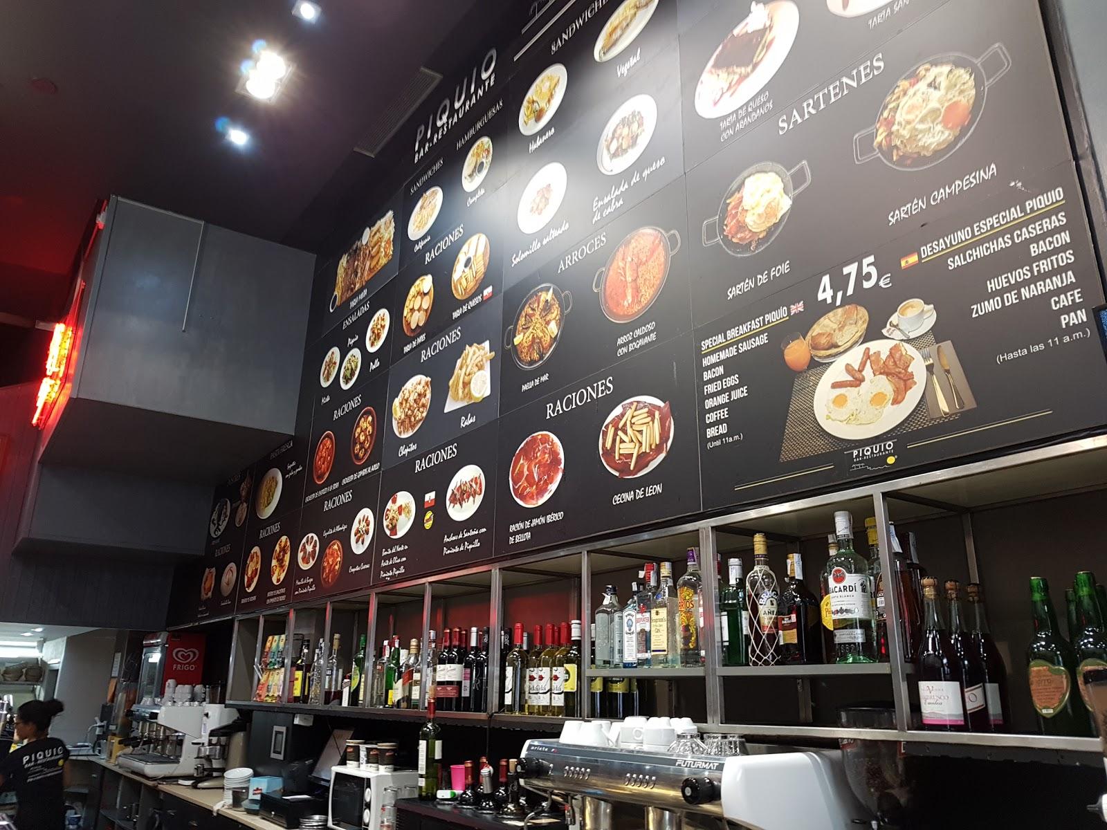 Restaurante Piquio,c/ Juan de Herrera