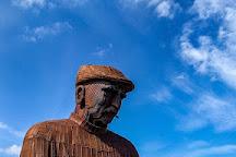 Fiddler's Green Fishermen's Memorial, North Shields, United Kingdom