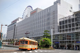 Железнодорожная станция   Matsuyama City Station(Railway)