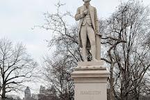 Alexander Hamilton Statue, New York City, United States