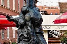 Statue of Petrica Kerempuh, Zagreb, Croatia