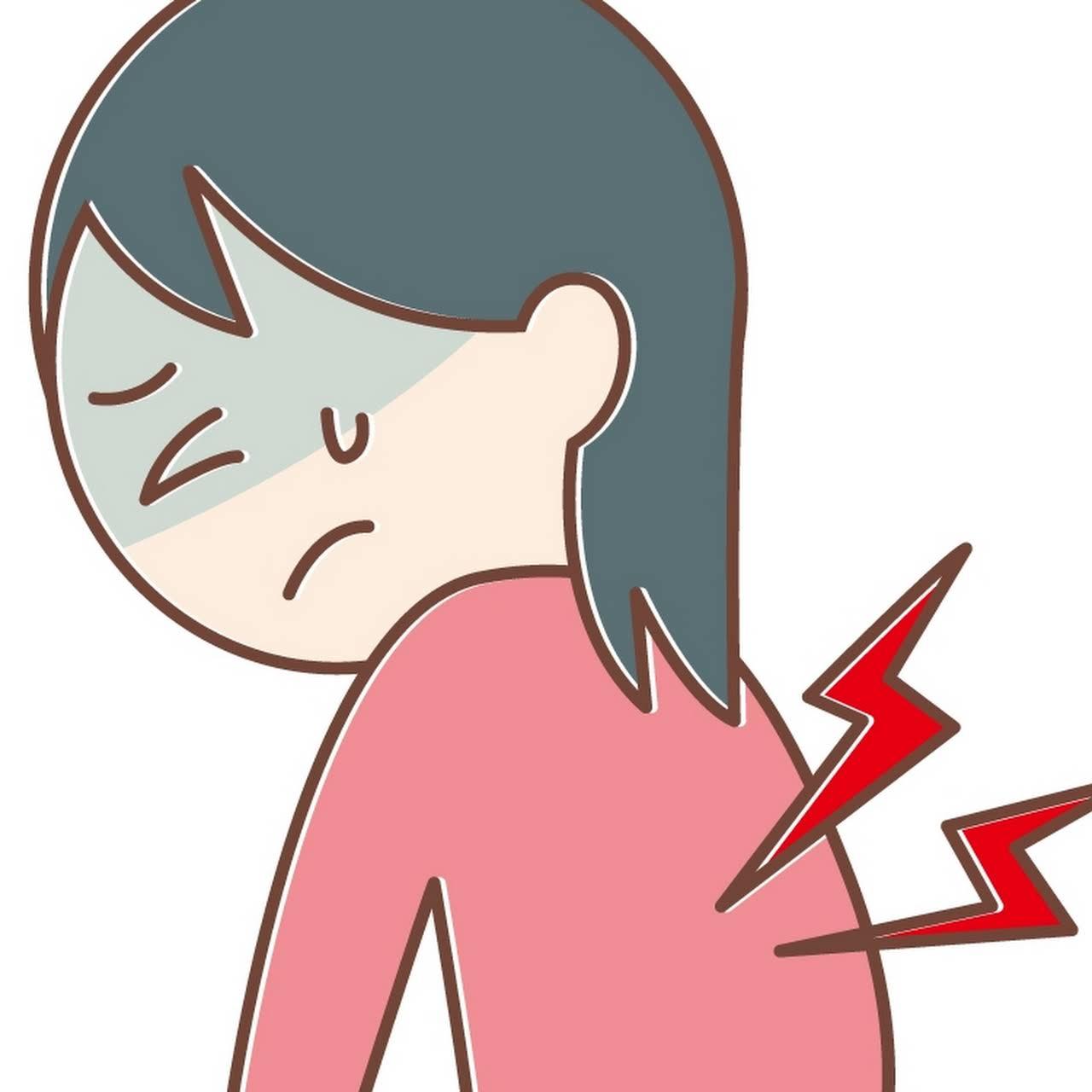 痛い の が 左肩 甲骨 下 あたり