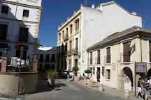 Placa A Los Viajeros Romanticos, Ronda, Spain