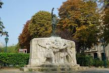 Monument aux Volontaires Americains, Paris, France
