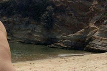 Kolitsani Beach, Ios, Greece
